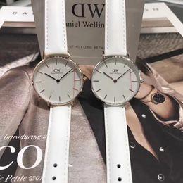 Wholesale New Bracelet Watches - Hot Selling New Daniel Watches 32mm Women Watches Bracelet Montre Femme Luxury Brand Leather Quartz Watch Reloj Mujer Female Clock Relogio