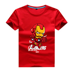 Wholesale Shirts Avengers - 2017 Fashion High Quality Printing T-shirts Linkin Park T Shirt 100% Cotton O-Neck T-Shirt Avengers Iron men Movie heroes American captain