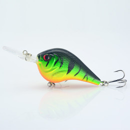 Wholesale Lure Bait Float - 1PCS Fishing Lure Deep Swimming Crankbait 9.5cm11.4g Hard Bait 5 colors available Tight Wobble Slow Floating Fishing Tackle