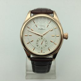 Wholesale Watch Classic - 2017 Sell Well High Quality Replica Luxury Watch Classic Mens Leather Analog Fashion Quartz-Watch montre reloj mujer Casual Watches Men AAA