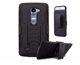Wholesale Heavy Metal Belts - For LG K7 M1 G4 G3 Hard Plastic Belt Clips Holster 2 In 1 Kickstand Stand cover Heavy Duty Shockproof case cases 30pcs 50pcs