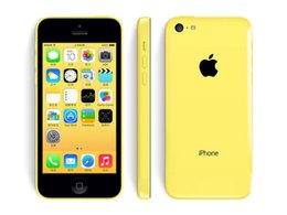Wholesale I Unlocked - Unlocked Top quality Refurbished Apple iPhone 5C Cell Phone IOS8 4.0 i iOS Dual Core 16GB 32GB 8MP Camera 4.0 inches WIFI GPS 3G Cell Phone