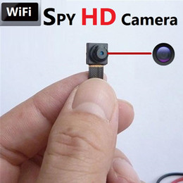 Wholesale Video Modules - Micro Cam 1080P HD Wireless Mini Hidden Camera DVs dvr Wifi Spy CAM Module Camera Motion Detector Video DVR Free Shipping Dropship