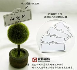 Wholesale Wedding Table Tree Holders - Plastic Tree Photo Holder Place Card Holder Wedding Table Decoration Wedding Favors Gifts 200 pcs lot