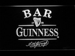 Wholesale Cheap Light Signs - 427 BAR Guinness Beer LED Neon Light Sign Cheap lighted signs indoor High Quality lighted letter signs