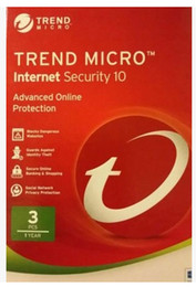 Wholesale Pcs Security - Trend Micro Titanium Internet Security 11 2017 2016 1 Year 3 PC protection English version can register online