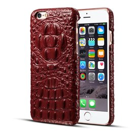 Cuoio genuino di mele online-Fashion For Iphone 6 6S Custodia Custodia in pelle genuina per 4.7 pollici Custodia sottile ultrasottile Custodia per Apple Iphone 6 6S