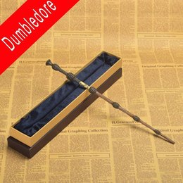 Wholesale Harry Potter Gifts - Hot Harry Potter Professor Dumbledore's Wand The Elder Magic Wands Cosplay in Box Halloween Great Gift