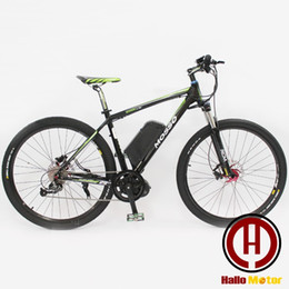 Wholesale Motor Electric Ebike - Wholesale-2016 New 29 inch 26 inch 48 v, 750 w eight fun Mid - Drive Motor eBike electric mountain bike high-power electric bicycle