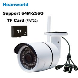 Wholesale Webcam Ip Network Mini Camera - Waterproof Wireless Mini Wifi IP camera support micro SD card CCTV Webcam Network Surveillance Security Camera with wide angle