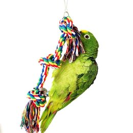 Wholesale Parrot Rope - Purple Star Birds Toy Parrot Chew Cotton Rope