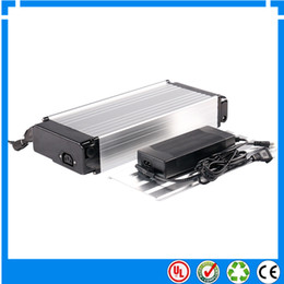 Wholesale Lithium Ion Batterie - EU US No tax Rechargeable 36 volt Rear Carrier Battery Packs Lithium ion ebike Batterie 36V 10Ah for Mountain Bikes with charger