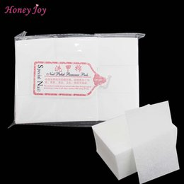 Wholesale Bag For Nail Polish - gel polish remover 111gram bag Solid Durable Tools Bath Manicure Gel Nail Polish Remover Lint-Free Wipes 100% Cotton Napkins For Nails
