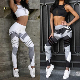 Wholesale Wholesale Tights For Ladies - 2017 Autumn Fashion Women's Ladies Leggings Printed Tights leggings pants elastic bodybuilding for sexy Girl Leggings Pants