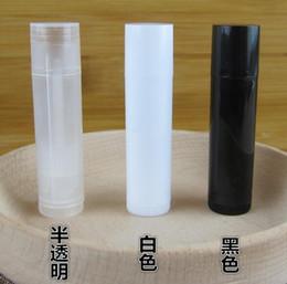 2016 all'ingrosso 100 pz / lotto 5 ml cosmetico vuoto chapstick lip gloss balsamo per labbra tubo + caps contenitore spedizione gratuita da