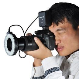 Wholesale Dslr Light Ring - Aputure Amaran Halo AHL-HC100 AHL-HN100 100 LED Macro Ring Flash Light for Canon Nikon DSLR Cameras