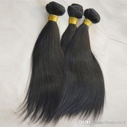 Wholesale Goddess Hair Wholesale - Top Silky Goddess remi Hair Weft Weaving Milk Way Unprocessed Peruvian Straight Cheap Humano Hair Weave 100g Bundle 3 Pieces lot