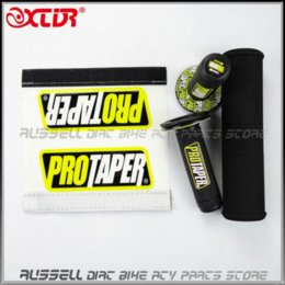 Wholesale Pro Taper Grips - MX Dirt bike Cross Bar Protector Round Pad Bars & Pro Taper Handle Grips grip pink
