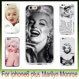 """Wholesale Marilyn Monroe Phone Cases - New high quality plastic pc phone protective sleeve Retro Marilyn Monroe For iphone6 i6 6g IPhone 6 plus 4.7"""" 5.5"""""""