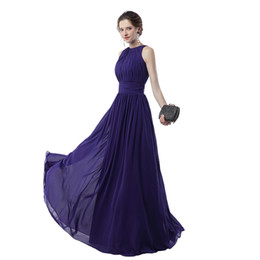 Wholesale Regency Bridesmaid Dresses - Real sample Regency Formal Evening Party Gowns 2017 A Line Sleeveless Free Shipping and Fast Delivery Cheap Long Prom Dress