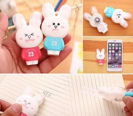 Wholesale Rabbit Erasers - Kawaii Stationery Correction Tape Cartoon Rabbit Correction Tape Fix with double eraser Office School Supplies Correction Fluid