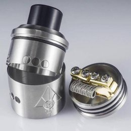 Wholesale Direct Drip Atomizer - Goon Rda Clone with peek insulator 528 Vaporizers RDA Atomizers ECig Rebuildable Dripping Atomizers 2colors Factory direct sale