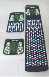 Wholesale Feet Sleeping - Reflexology Walk Stone Foot mats carpet Leg Pain Relieve Relief Walk Massager Mat Health Care Acupressure Mat Pad Promote Sleep mat