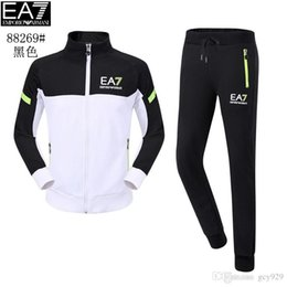 Wholesale White Cardigans Men - Free shipping new high-end men's wholesale men's sweater long sleeve suit sports leisure sweater suit men's cardigan 11