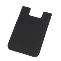Al por mayor-6 Color adhesivo 3M Adhesivo Portatarjetas para iPhone 6 Samsung teléfono celular desde fabricantes