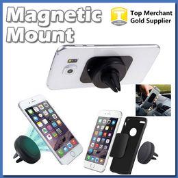Wholesale Safe For Car - 360 Degree Universal Car Holder Magnetic Air Vent Mount Dock for iPhone 6 6s Easy Mounting Reinforced Magnet Easier Safer Driving