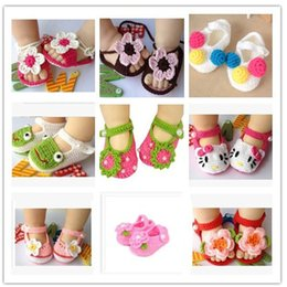 Wholesale Weave Baby Shoes - Wholesale- First walker baby boy girl wool shoes Spring Handmade wool baby shoes, children's woven newest princess shoes