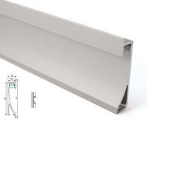 2019 rondella a parete 24v 50 X 1M set / lotto Profilo led in alluminio di design per la casa e profilo da incasso per estrusione a parete per wall washer o plafoniere rondella a parete 24v economici