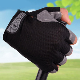 Wholesale Grey Lifts - Gel Weight Lifting Body Building Sports Gloves Gym Fitness Workout Training Exercise