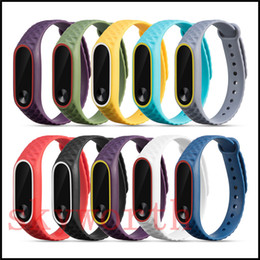 smart watch accessories wholesale Promo Codes - For Xiaomi Mi 2 TPU Silicone Smart Bracelet Wristband band Replacement Strap Miband 2 Accessories Strap environment watch band