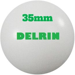 water ball valve NZ - 35mm Delrin ( POM )   Celcon Plastic Solid Balls for Valve components, Low Load bearings, gas water application