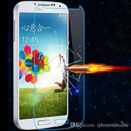 Wholesale Clear Screen Protector For S4 - Tempered Glass Clear Screen Protector Explosion proof 2.5D 0.3mm For Samsung Galaxy S6 S5 S4 S3 S7 Note 2 3 4 5 Protective Film Package