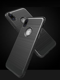 Wholesale Dark Grey Brushed - Case For iPhone X TPU Silicone Brushed texture Wire drawing Shockproof Back Cover For Apple phone Cases