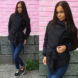 Wholesale Corduroy Coat Ladies - Cheap wholesale ladies fashion ladies cotton turtleneck multicolor ladies jacket thick warm coat 2XL