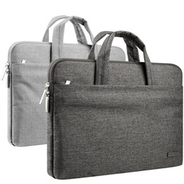 Wholesale Case Briefcase - 11-15.6 Inch Laptop Sleeve Briefcase Water Repellent Handbag for MacBook Air Pro Surface iPad Dell Chromebook Carrying Case Notebook Bag