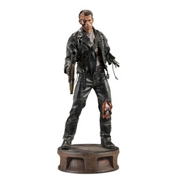 Wholesale Finished Wood Products - The Terminator 2 Action Figure T-800 Battle Damage Version Arnold PVC Action Figures Toy Collectible Model Dolls 21 Inches