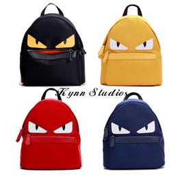 Wholesale Custom School Backpacks - Hot sale! New Arrival Peekaboo Monster Backpacks Fashion High Quality-Custom Waterproof Nylon School bag-Free Shipping