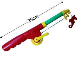 Wholesale Children Pole - Plastic Fishing Rod For Children New Arrival Free Shipping 51cm Portable Fiber Reinforce Plastic Lure Rod Telescopic Fishing Pole ISP