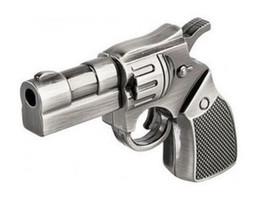 Wholesale Gb Flash Memory - Metal Revolver Gun Model USB 2.0 Flash Memory Stick Pen Drive 8GB 4GB 16GB 1GB 2GB Pistol