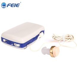 Wholesale Hearing Aid Pocket - Pocket type hearing aid devices amplificatore Portable Body Worn Audiphone S-6A