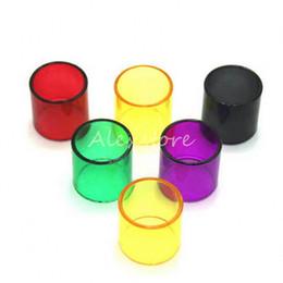 Pyrex di sostituzione per kanger online-Cappucci di ricambio per tubo di vetro colorato Pyrex per Kanger Subtank Toptank Mini Nano Plus Aspire Triton Contenitore di pezzi di carbone artico Atlantis 2 TFV8
