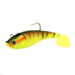 Wholesale Soft Baits Sea Fishing Lure - New 1Pc 20Cm 300G Large Sea Fishing Lure Soft Bait Artificial Fishing Lure with Single Hook Trolling Fish Lures Minnows