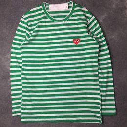 Wholesale New Shirt Fashion For Men - Wholesale luxury brand long sleeve hoodies for men women fashion o neck heart shape print t shirts for men new tide male t shirt