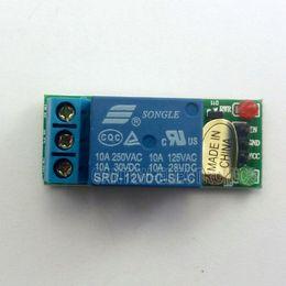 Sensore ad alto livello online-1 Canale CC 12V di alto livello modulo relè per sensori tattili di interruttore deviatore