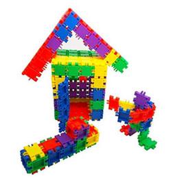Wholesale Plastic Blocks For Babies - MICHLEY Baby Blocks Interlocking Puzzle Intelligence Building Educational Enjoyable Kid Boys Bricks Blocks for Kids 1ZJ0013-jimu-m