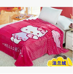 Wholesale Princess Fleece Blanket - Specifications: 150cm X 200cm Fleece Blankets princess girls coral fleece blanket On The Bed High Quality Direct Selling